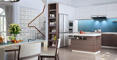 Thiết kế nội thất biệt thự CityLand – Quận Gò Vấp, TPHCM