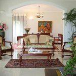 Nội thất biệt thự bán cổ điển kết hợp phong cách indochina