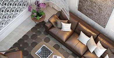 Thiết kế nội thất biệt thự hiện đại cao cấp tại tphcm