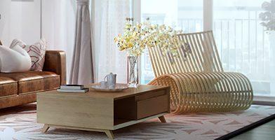 Phong cách thiết kế nội thất Retro với căn hộ RiverPark