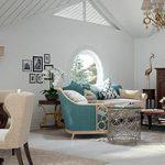 Thiết kế nội thất biệt thự bán cổ điển Q7
