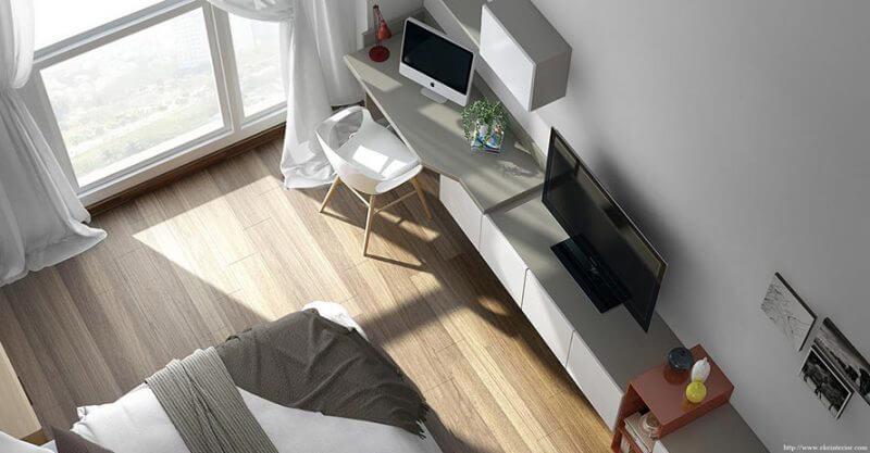 mẫu thiết kế nội thất căn hộ chung cư AirPort Plaza