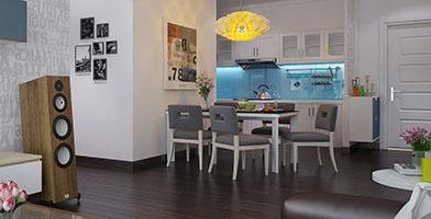 Thiết kế nội thất căn hộ Phú Hoàng Anh. Hoàng Anh Gia Lai