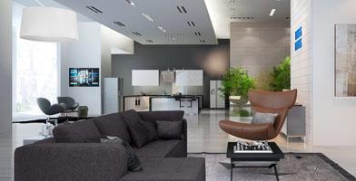 Thiết kế nội thất biệt thự Him Lam