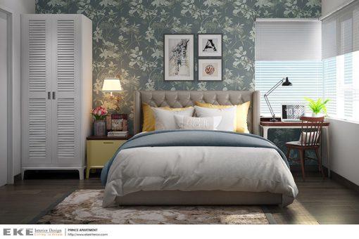 thiết kế nội thất căn hộ The Prince Residence phòng ngủ
