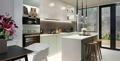 Mẫu thiết kế nội thất nhà phố hiện đại đẹp tham khảo