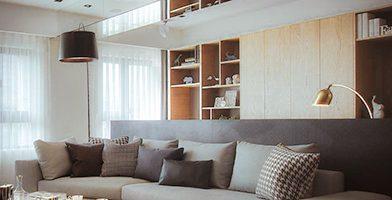 Mẫu nội thất căn hộ hiện đại 3 phòng ngủ 100m2
