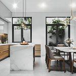 Thiết kế nội thất nhà phố đẹp hiện đại