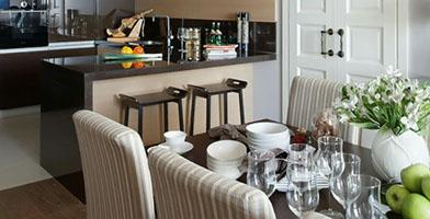 Tham khảo mẫu thiết kế nội thất căn hộ đẹp 100m2