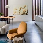 Thiết kế nội thất biệt thự phong cách hiện đại Midcentury modern