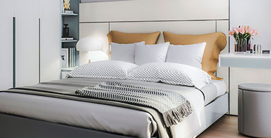 Thiết kế căn hộ chung cư Scenic Valley 2 phòng ngủ 77m2