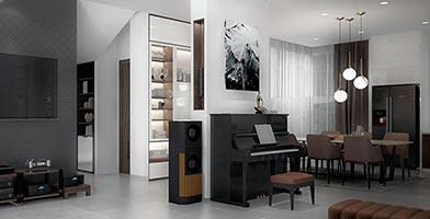 Thiết kế nội thất biệt thự cao cấp Lucasta Khang Điền Q9