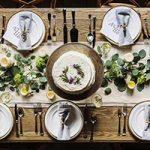 Cách trang trí nội thất bếp và phòng ăn cho dịp Tết