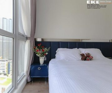 thiết kế- thi công nội thất căn hộ vinhome central park 105m2-phòng ngủ