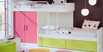 Ý tưởng thiết kế nội thất phòng ngủ cho bé gái và bé trai