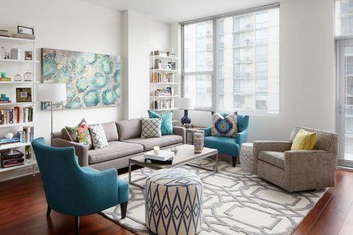 Cách chọn màu sắc đẹp cho không gian nội thất nhà ở