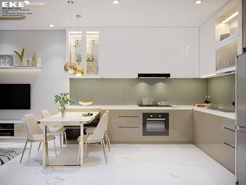 sai lầm thiết kế nội thất nhà bếp