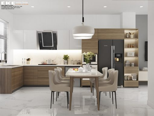 sai lầm cần tránh khi thiết kế phòng bếp