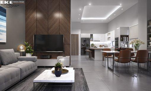 thiết kế nội thất nhà phố đồng nai