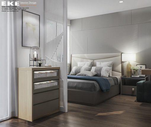 thiết kế nội thất nhà phố lovera park Bình Chánh