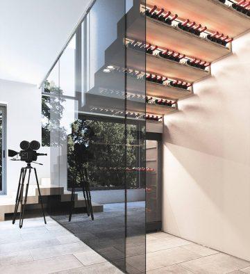 thiết kế tủ rượu vang đẹp