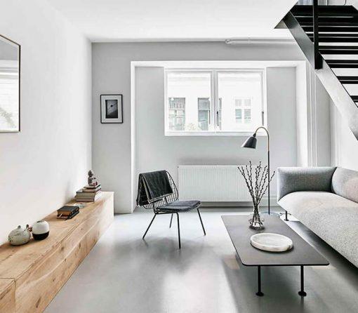 phong cách tối giản cho căn hộ