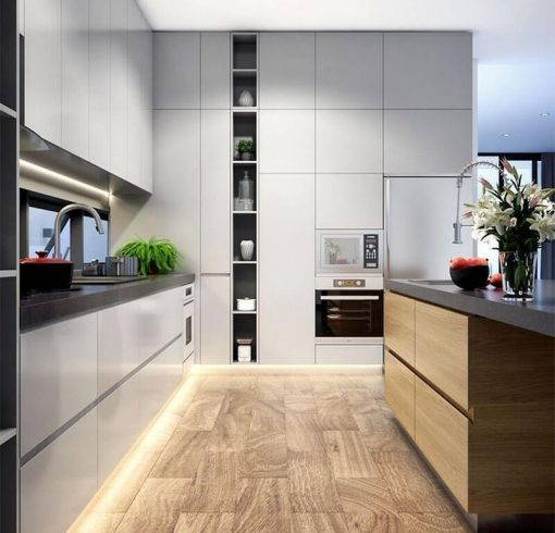 nội thất bếp phong cách Á Đông