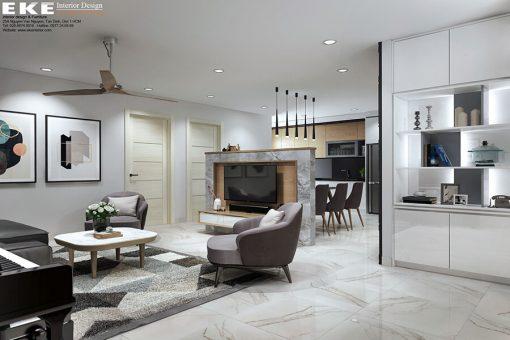 Thiết kế nội thất chung cư Phúc Đạt