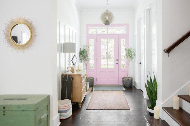 5 tùy chọn màu sắc cho lối vào-hồng