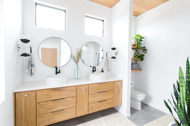 nội thất phù hợp cho phòng tắm
