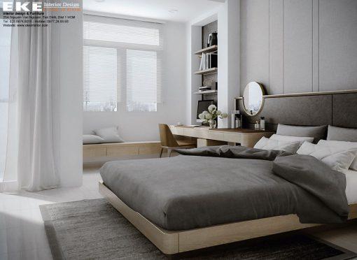 thiết kế cải tạo nội thất nhà phố-phòng ngủ