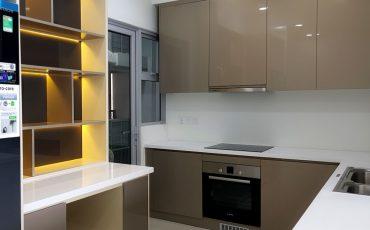 thi công nội thất dự án Estella Hights Bếp