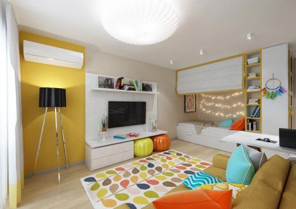 mẫu thiết kế căn hộ chung cư đẹp nhỏ gọn