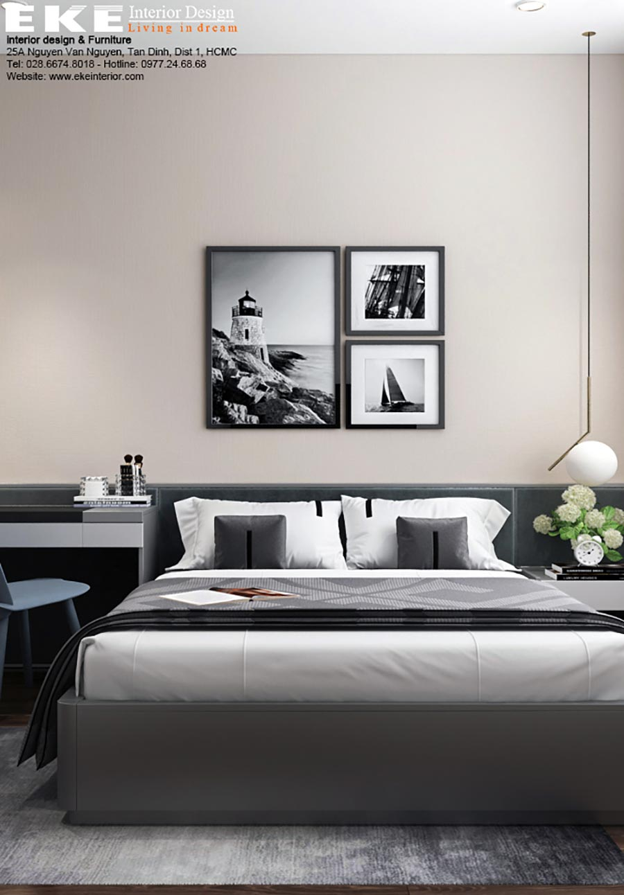 Căn hộ chung cư Grande Midtown Phú Mỹ Hưng - Phòng ngủ