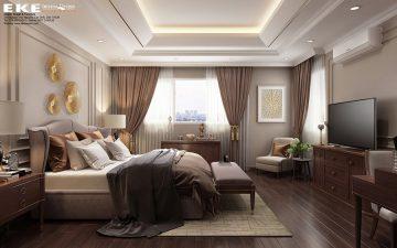 Nội thất căn hộ The Eastern - Phòng ngủ chính