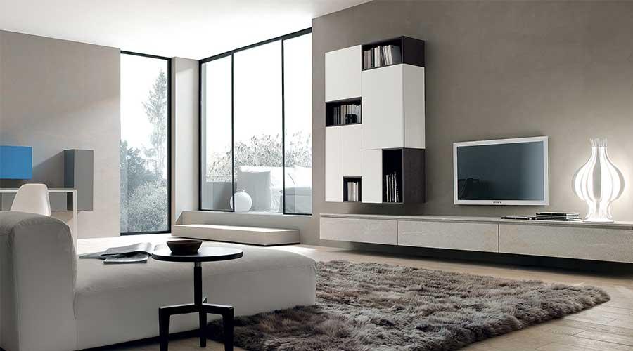 Cách lựa chọn kệ trang trí phòng khách phù hợp với không gian