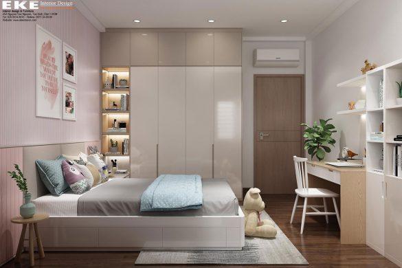 Phòng ngủ bé gái- Tầng 2