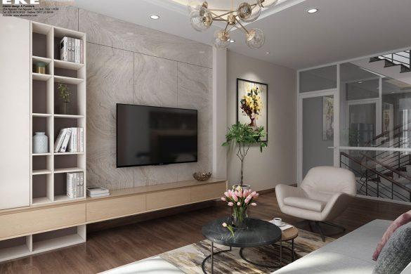 Thiết kế cải tạo nội thất nhà phố- phòng khách
