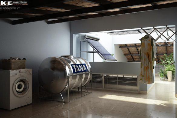 Thiết kế cải tạo nội thất nhà phố 1 trệt 2 lầu