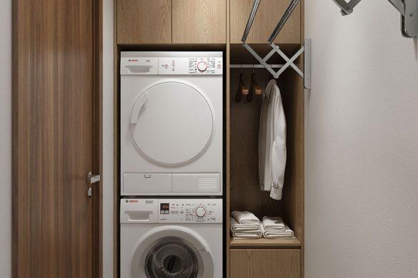 Phòng giặt căn hộ chung cư Kingdom