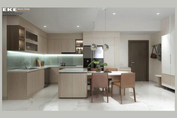 Thiết kế chung cư Safira Khang Điền 3 phòng ngủ 85m2