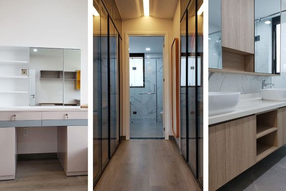 Thiết kế Cải tạo nội thất căn hộ Panorama Phú Mỹ Hưng Quận 7