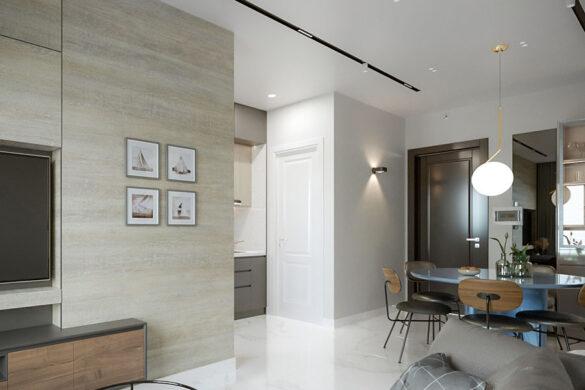 căn hộ chung cư 55 m2 idico