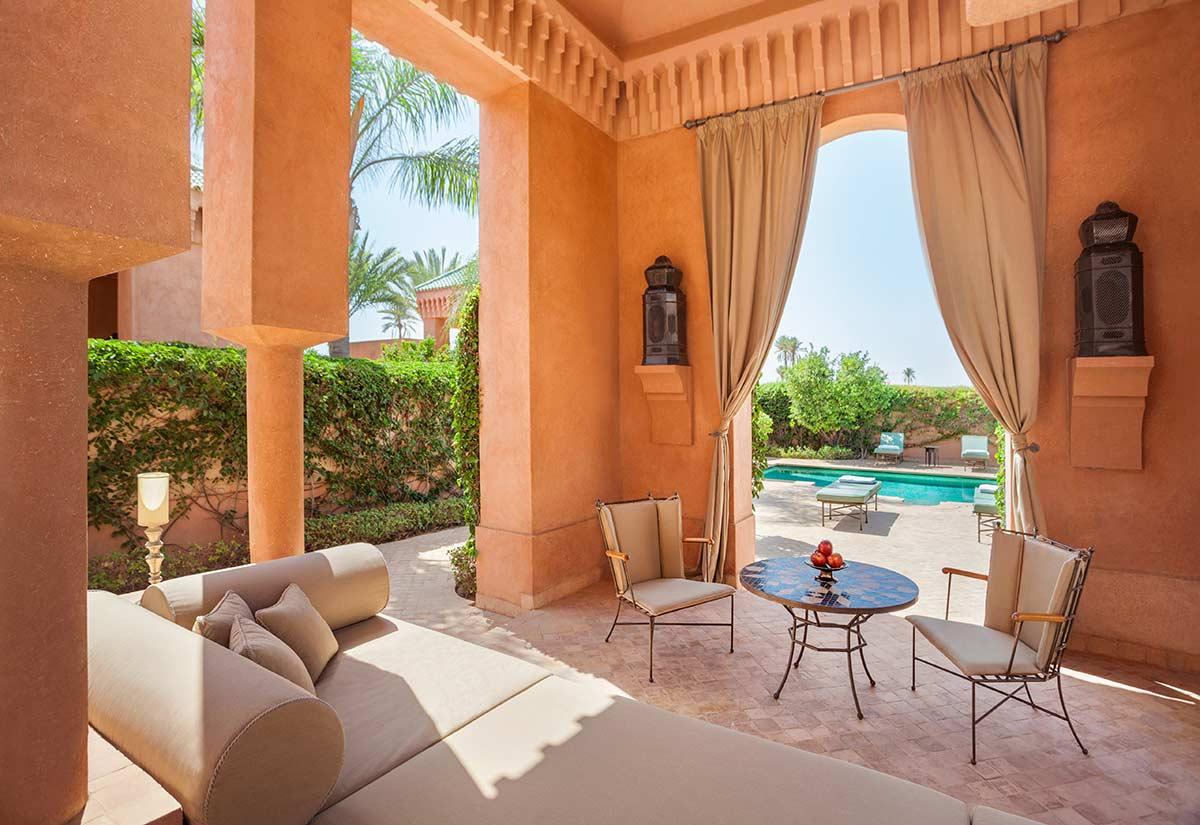 thiết kế vườn phong cách ma rốc- moroccan