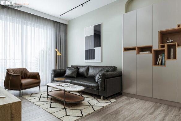 Thiết kế căn hộ chung cư Sunrise RiverSide 3 phòng ngủ